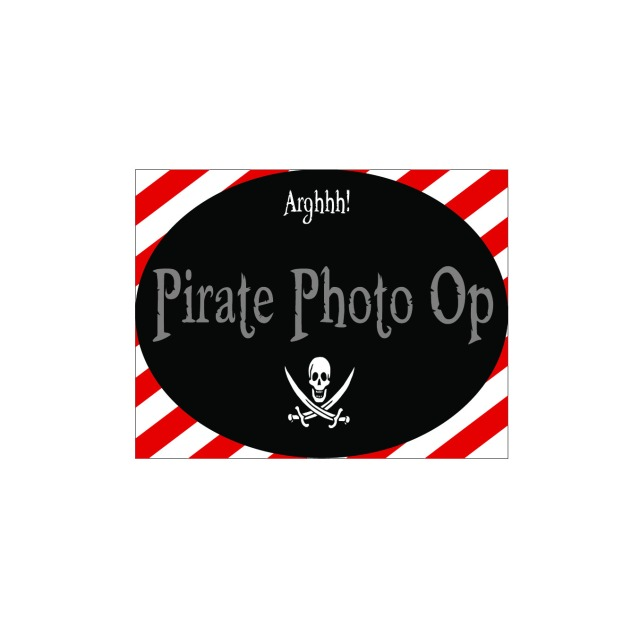 Pirate photo op