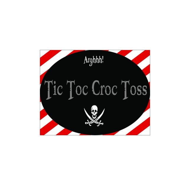 Tic Toc Croc Toss
